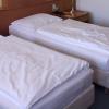 Een hotelkamer voor 1 persoon tijdens The Ride