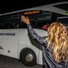 Met de bus naar de start van The Ride
